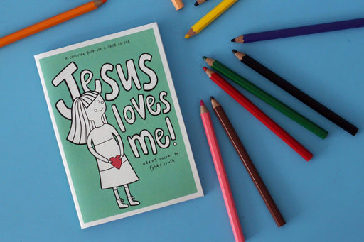 'Jesus Loves Me' Colouring Book-Parables