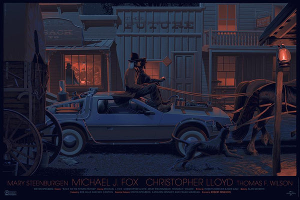 Back to the Future Part 3 - By Laurent Durieux - ShopModes