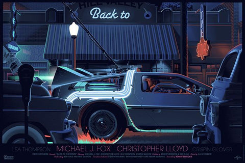 Back to the Future Part 1 - By Laurent Durieux - ShopModes