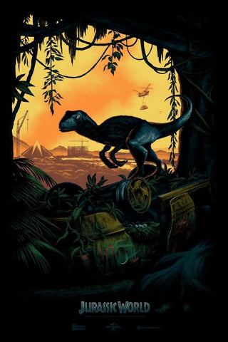 Jurassic World - By Mark Englert - ShopModes