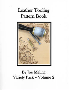Leather Tooling Pattern Book- Vol 2