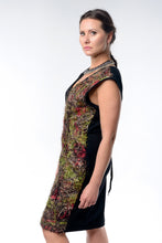 Load image into Gallery viewer, Handwoven Midi Wrap Dress