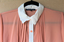 Load image into Gallery viewer, Chiffon Button-Front Blouse