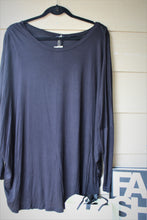 Load image into Gallery viewer, Boxy Long Sleeve Jersey Top