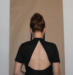 Summer Backless Loose Tee