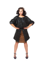Load image into Gallery viewer, Heathered Knit Longline Microsuede Kimono Jacket