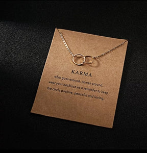 "Chain Necklace ""Karma"""
