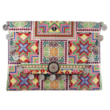 tassel clutch clutches pompom colorful rainbow revolve showpo handmade handicraft embroidered embroidery fair trade bag handbags boho bohemian vintage fashionable chic glamorous glam fun zara topshop  classic fringe shoulder bag handbags wantmylook tribal summer spring GAIA iPad holder houseofcb fashion