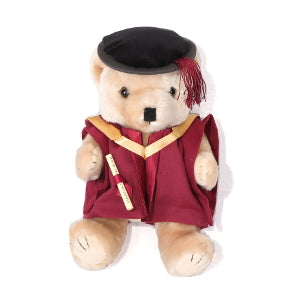 Graduation bear 18cm - PhD