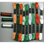 10th Anniversary Shamrocks DMC Floss & Kreinik Thread Pack