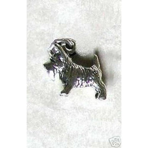 Celtic Treasures Scottie Dog Sterling Silver Charm
