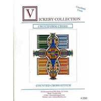 Vickery Collection Cruciform Cross - Cross Stitch Pattern