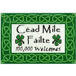 Celtic Obsessions Cead Mile Failte Cross Stitch Pattern