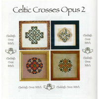 Claddagh Cross Stitch Celtic Crosses Opus 2