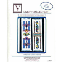 Vickery Collection Celtic Zoomorphic Bookmarks - Cross Stitch Pattern