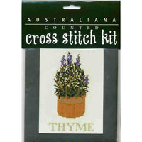 Stewart Merrett Counted Cross Stitch Kit Herbs