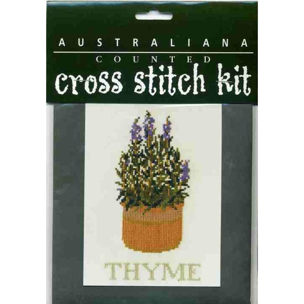 Stewart Merrett Counted Cross Stitch Kit Herb Thyme