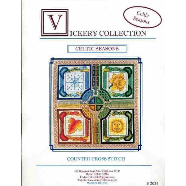 Vickery Collection Celtic Seasons - Cross Stitch Pattern