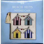 Textile Heritage Beach Huts Needle Case Cross Stitch Kit