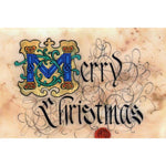 Celtic Card Company Merry Christmas Greeting Card