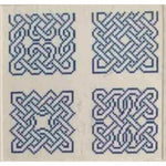 Hillcroft House Celtic Knots #2 Counted Cross Stitch Pattern