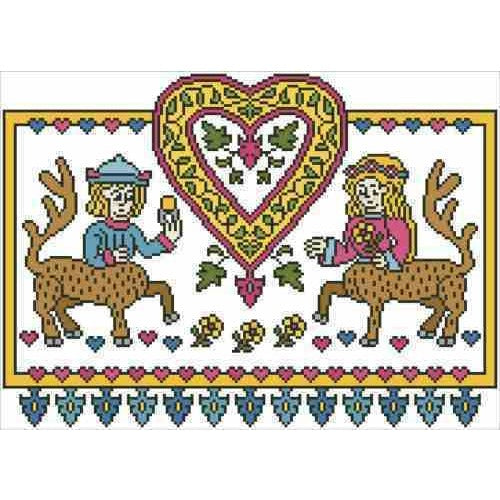 Arelate Studio Happily Ever After Cross Stitch Pattern