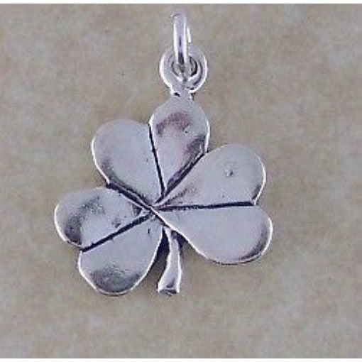 Celtic Treasures Irish Shamrock Sterling Silver Charm