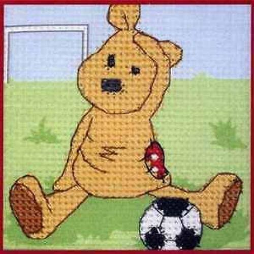 Binca Beginner Cross-stitch Kit Newton's Law Football