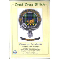 Clans of Scotland Scottish Crest Campbell Cross Stitch Kit