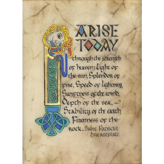 Celtic Card Company Matted Print Saint Patrick's Breastplate
