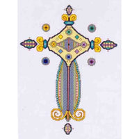 Vickery Collection Avalon Cross - Cross Stitch Pattern