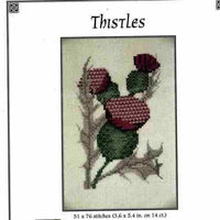 Crossbill Thistles Stitch Pattern