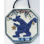 Christmas at Bunyip Dragon Cross Stitch Pattern Limited Edition Dinky Dyes