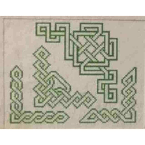 Hillcroft House Celtic Knots Corners #6 Counted Cross Stitch Pattern