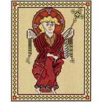 Celtic Obsessions Book of Kells St Matthew Cross Stitch Pattern