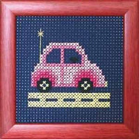 Binca Beginner Cross Stitch Kit Car