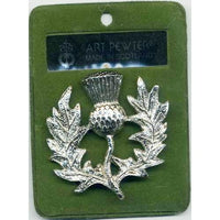 APS 223 Scottish Thistle Brooch