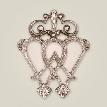 APS 002 Scottish Luckenbooth Brooch