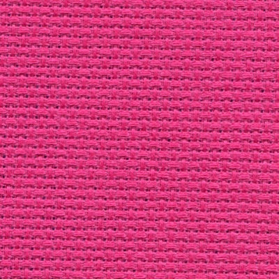 Aida Fabric 14 Count Raspberry Sorbet