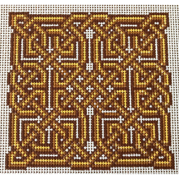 Amaethon Celtic Knot Hand Painted Needlepoint Canvases