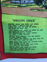 Tea Towel Amazing Grace Scottish Piper