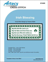 Artecy Irish Blessing Cross Stitch Pattern