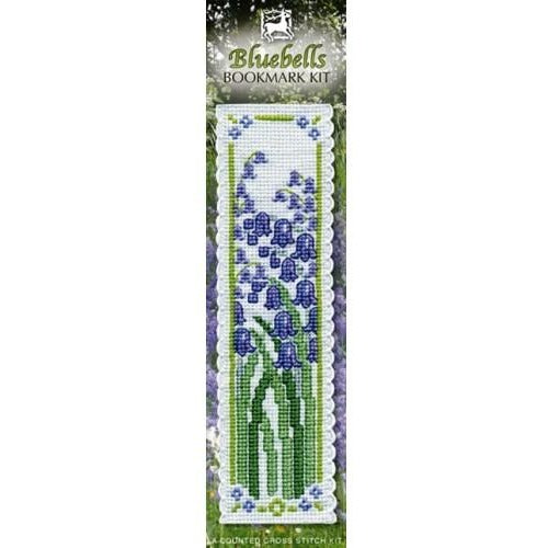 Textile Heritage Bluebells Bookmark Cross Stitch Kit