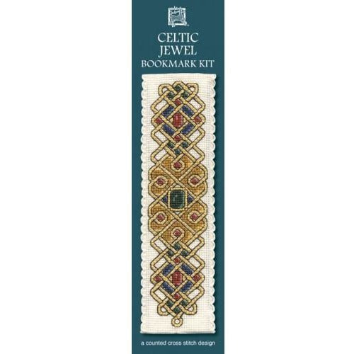 Textile Heritage Celtic Jewel Bookmark Cross Stitch Kit