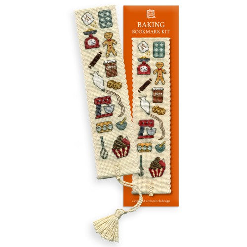 Textile Heritage Baking Bookmark Cross Stitch Kit