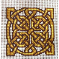 Belenus Celtic Knot Hand Painted Needlepoint Canvases