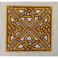 Belisima Celtic Knot Hand Painted Needlepoint Canvas