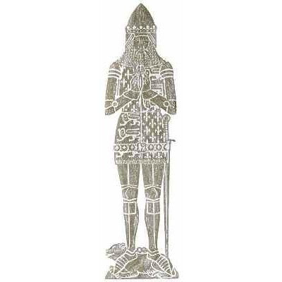 Brass Rubbing Kit The Black Prince