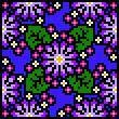 Botanical Pin Cushion Livingstone Daisy Cross Stitch Pattern