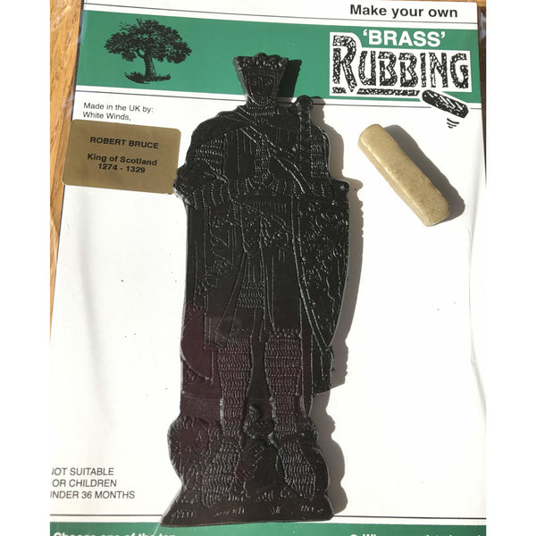 Brass Rubbing Kit Robert the Bruce King of Scots